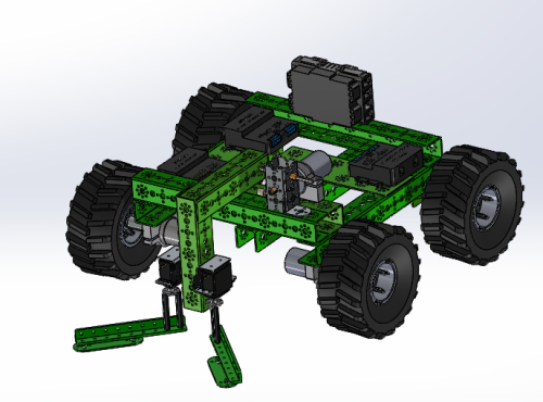 PED robot CAD