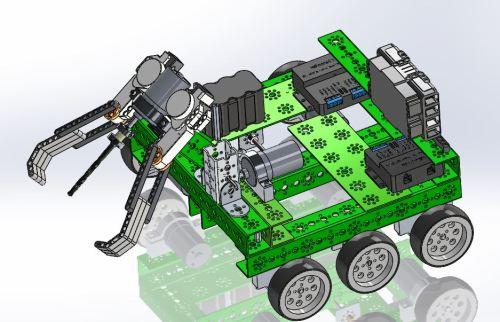 Mars Rover CAD Design