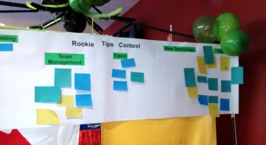 Rookie Tips Contest