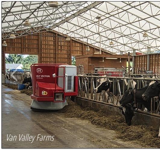 Van Valley Farm - robotic feeding system