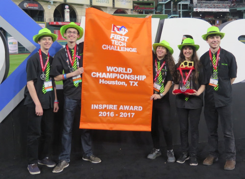 FTC Inspire Award Houston World Championship