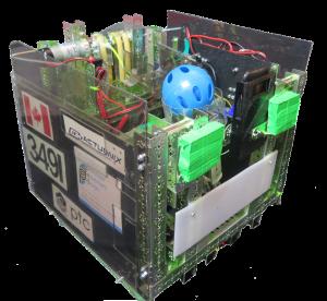 Fermion, our robot for 2016-2017