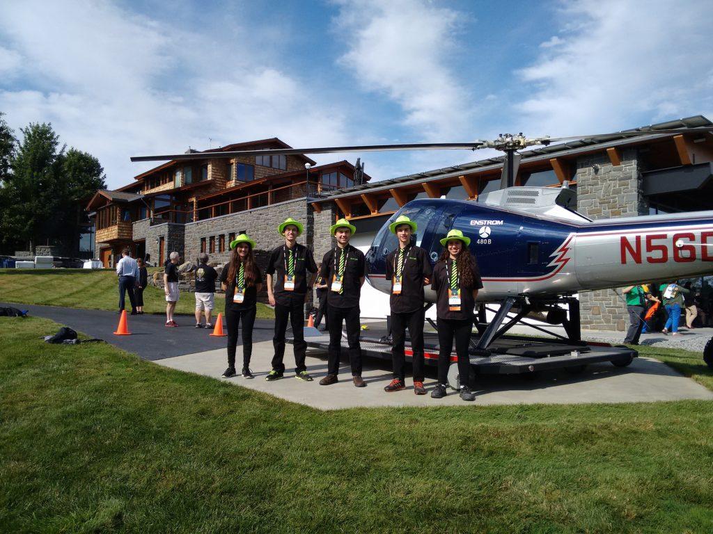 Dean Kamen's Helicopter