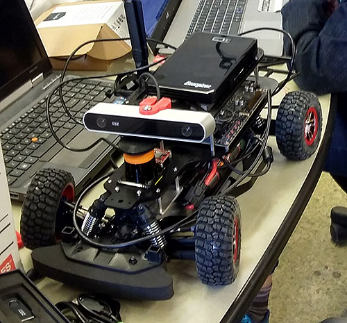 FIX IT Autonomous Race Car - FIX IT 3491